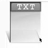 document texte (txt) icon